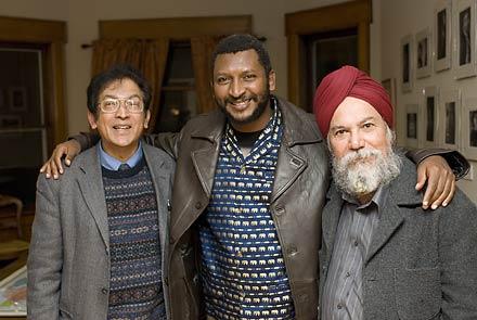 Peter Nazareth, Peter Kimani, Kirpal Singh