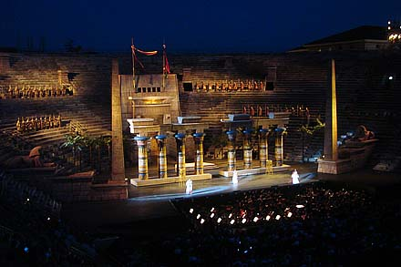 area opera, verona italy, arena de verona, coliseum, aida