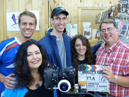 iowa filmmaking, Kaitlyn Busbee, Mollys Girl, Kimberly Busbee