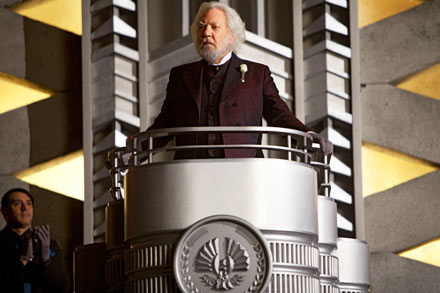 hunger games, donald sutherland