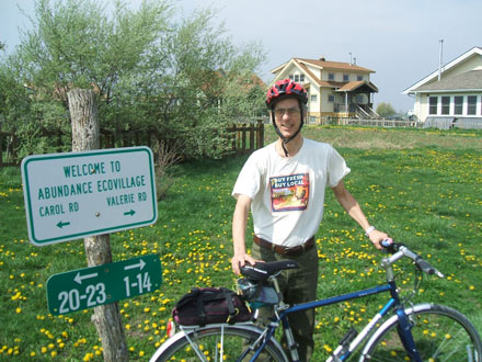 john salerno, bike commute