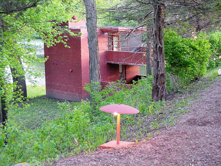 cedar rock, cedar rock boathouse, frank lloyd wright iowa, quasqueton
