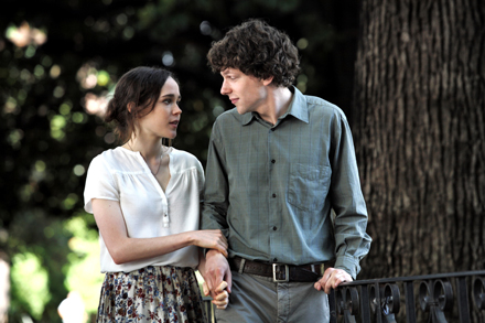 to rome with love, ellen page, jesse eisenberg
