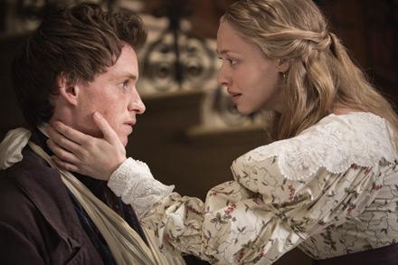 les miserables, amanda seyfried, Eddie Redmayne, Cosette