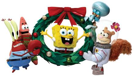 spongebob, spongebob christmas