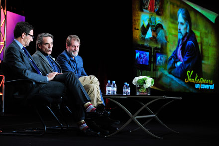 jeremy irons, shakespeare uncovered, jeremy irons shakespeare