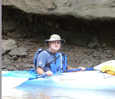 ron meyers, cedar creek, iowa kayaking, kayak