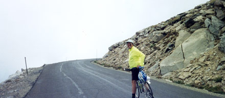 jeff feist, cycling mount evans