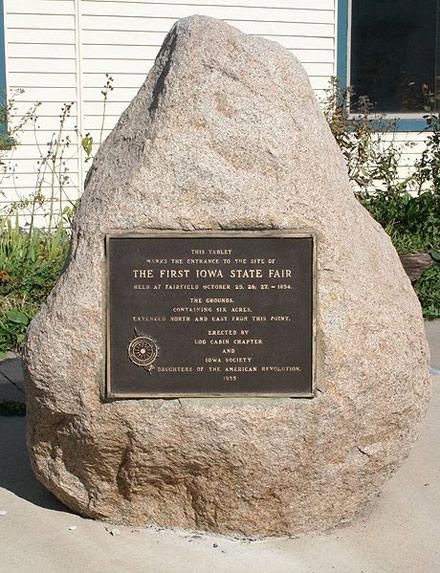 first iowa state fair, first iowa fair, fairfield state fair, fairfield ia