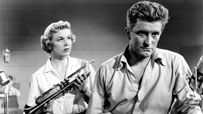 young man with a horn, kirk douglas