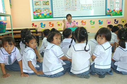 Dhammajarinee Witthaya Girls' School thai girls school, aunampai