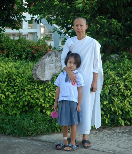 thai girls school, aunampai, Dhammajarinee Witthaya Girls' School