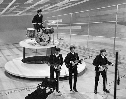 beatles 1964, beatles ed sullivan