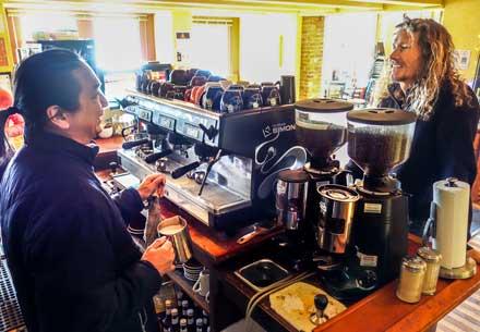 cafe paradiso, cafep, coffee fairfield iowa, fairfield iowa, fairfield ia