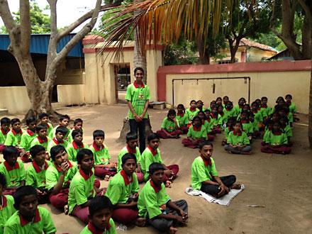 pranav chhaliyil, maharishi school
