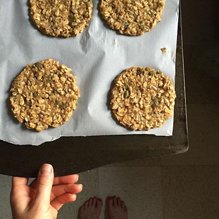 breakfast cookie, sheila higgins