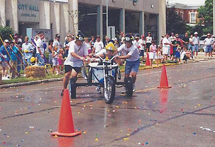 bathtub races